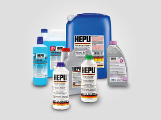 HEPU coolants + cooling additives